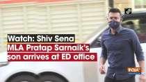 Watch: Shiv Sena MLA Pratap Sarnaik