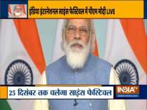 PM Modi addresses India International Science Festival