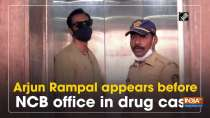 Arjun Rampal appears before NCB office in drug case