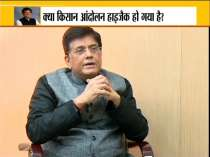 India TV Exclusive: Union Minister Piyush Goel on Farmers protest