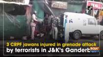 3 CRPF jawans injured in grenade attack by terrorists in JandK