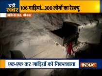 300 passengers stranded at Zojila pass due to snow avalanche rescued by BRO