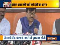 Targetting women of a household is an act of cowardice: Shiv Sena MP Sanjay Raut