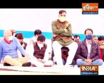 Delhi Deputy CM Manish Sisodia and MLAs hold