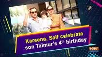 Kareena, Saif celebrate son Taimur