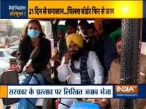 Farm laws: Farmers continues to block Delhi borders, heavy traffic jam on roads