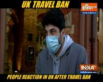 People in London on travel bans and tier 4, aerials