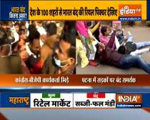 Bharat Bandh: BJP-Congress workers scuffle in Jaipur, normal lift partially hit in Patna