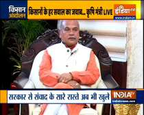 Watch India TV Exclusive Agriculture minister Narendra Singh Tomar on farmers protest