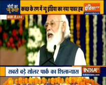 Today Kutch has taken a big step towards new age technology and new age economy: PM Modi