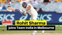 Rohit Sharma joins Team India in Melbourne
