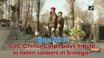 Vijay Diwas: GoC Chinar Corps pays tribute to fallen soldiers in Srinagar