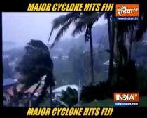 Heavy rains, strong winds as cyclone nears Fiji