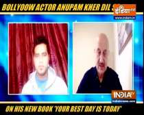 What Anupam Kher told IndiaTV about his new book