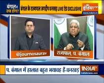 India TV Exclusive: Bengal Governor Jagdeep Dhankhar on mob attack on Nadda