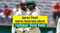 AUS vs IND: Aaron Finch warns Australia to not sledge