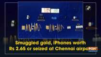 Smuggled gold, iPhones worth Rs 2.65 cr seized at Chennai airport