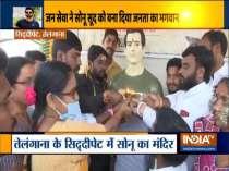 Telangana: Dubba Tanda village locals construct temple to recognize Sonu Sood