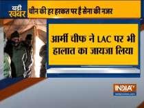 Amid India-China standoff, Army chief General visits forward areas, reviews situation along LAC