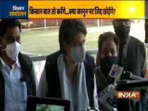 Government should listen to farmers and take back the laws: Priyanka Gandhi Vadra