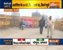 Bharat bandh: Most of the roads in Delhi