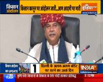 Union Agriculture Minister Narendra Singh Tomar on new farmers laws