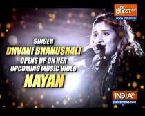 Dhvani Bhanushali opens up on her music video