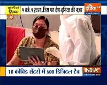 Mumbai: BMC distributes digital tablets to covid patients