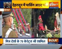 IMA conducts passing out parade for cadets in Dehradun