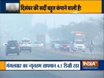 Cold winds sweep Delhi, temperature dips to 4.1 degree