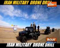 Iranian army holds large-scale drone drill