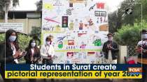 Students in Surat create pictorial representation of year 2020