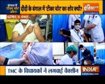 Kurukshetra: TMC leaders got vaccine shots, sparks controversy