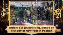 Watch: BSF jawans sing, dance on first day of New Year in Poonch