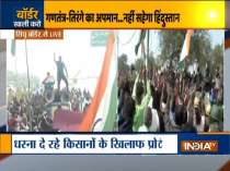 Scuffle breaks out at Singhu border where farmers are protesting against Farm Laws