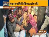 Ghaziabad roof collapse tragedy: Kins of victims block Delhi-Meerut highway, demand compensation