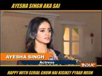Ayesha Singh talks about the latest happening in her show