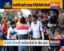 Clash between BJP-TMC workers in Howrah ahead of PM Modi