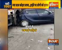 UP: More than 20 cars ram into each other in Eastern Peripheral Expressway
