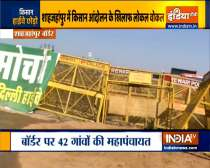 Locals demand farmers vacate Shahjahanpur protest site
