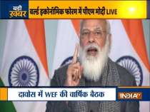 PM Narendra Modi addresses World Economic Forum