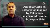 Armed struggle in Balochistan inspired by Pakistan