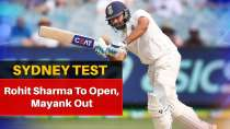 Rohit Sharma walks into Sydney Test playing XI at the cost of Mayank Agarwal