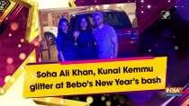 Soha Ali Khan, Kunal Kemmu glitter at Bebo