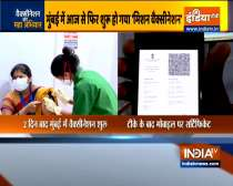 COVID-19 vaccination resumes in Mumbai, Pune after 2 days