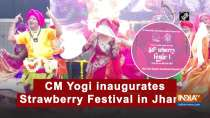 CM Yogi inaugurates Strawberry Festival in Jhansi