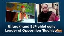 Uttarakhand BJP chief calls Leader of Opposition