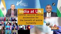 India at UN: COVID vaccine will be accessible for the benefit of entire humanity