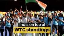 India clinch top spot in WTC standings, Australia slip to No.3
