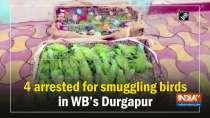 4 arrested for smuggling birds in WB